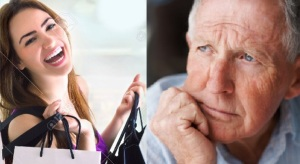 older man - young woman